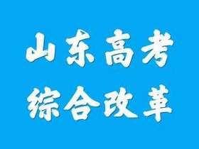 山东省深化高等学校考试招生综合改革试点方案