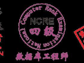 2019年全国计算机四级数据库工程师考试资料和题库