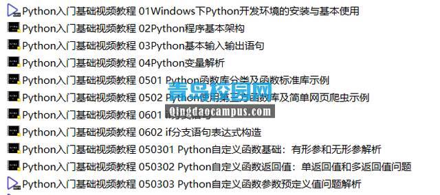 2019年全国计算机等级考试二级Python学习视频